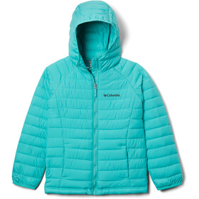 Columbia Powder Lite Hooded Jacket Girls dolphin